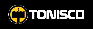 Tonisco logo wide website